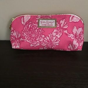 Lilly Pulitzer Pink Makeup Bag